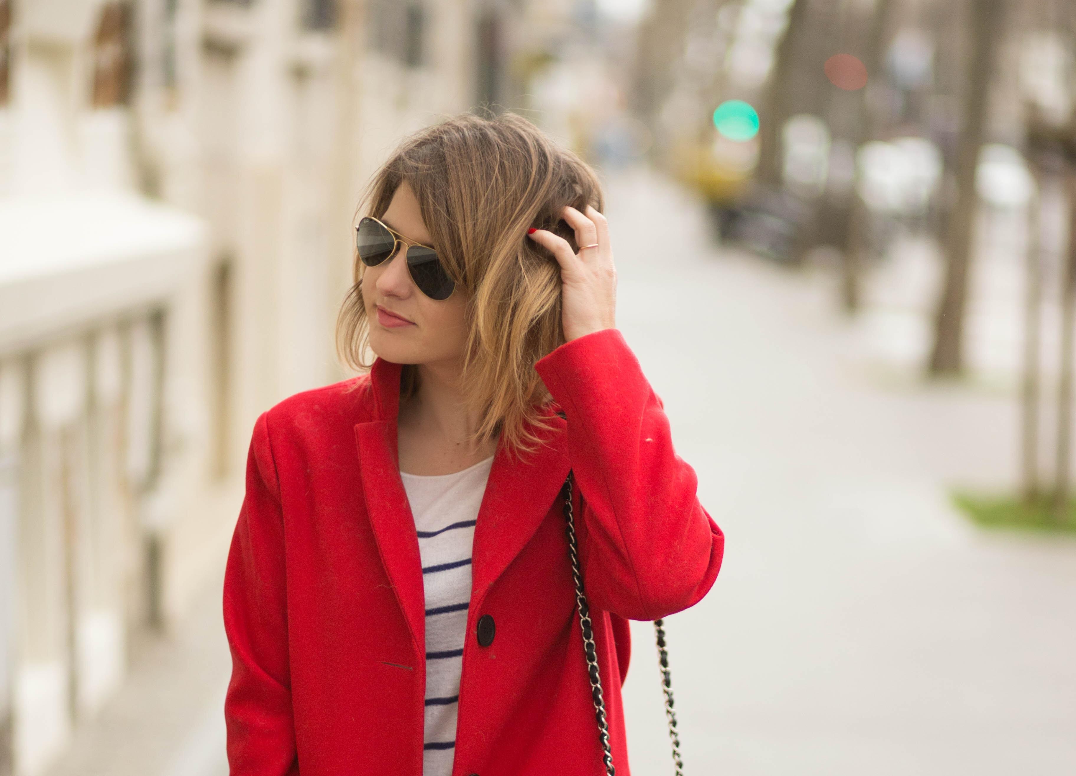 manteau rouge femme zara | nouvelle revue entomo