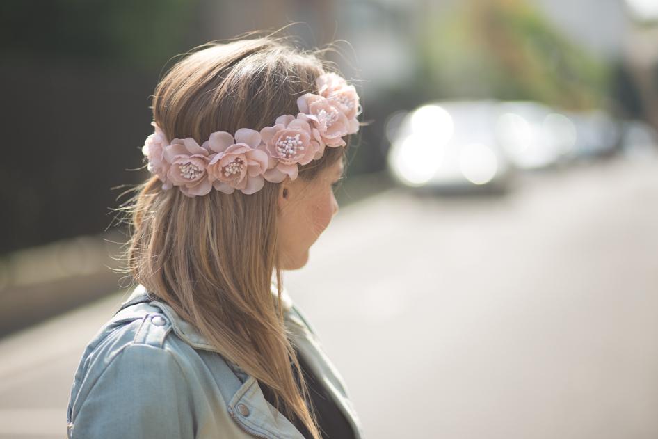 Couronne de fleurs camille paris - Fleuriste couronne de fleurs ...