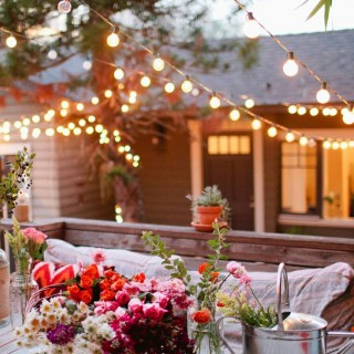 Terrasses et luminaires