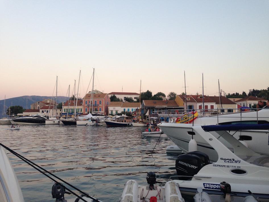 fiscardo port