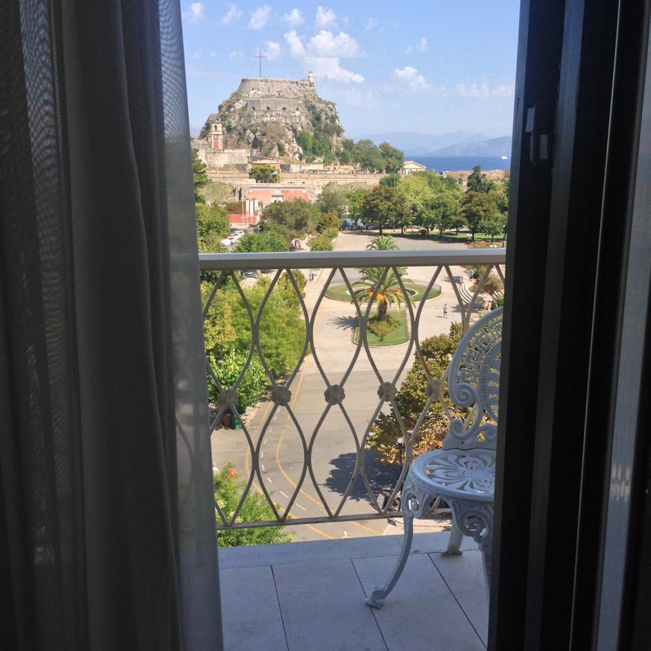 hotel vue balcon