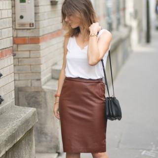 Jupe midi Zara