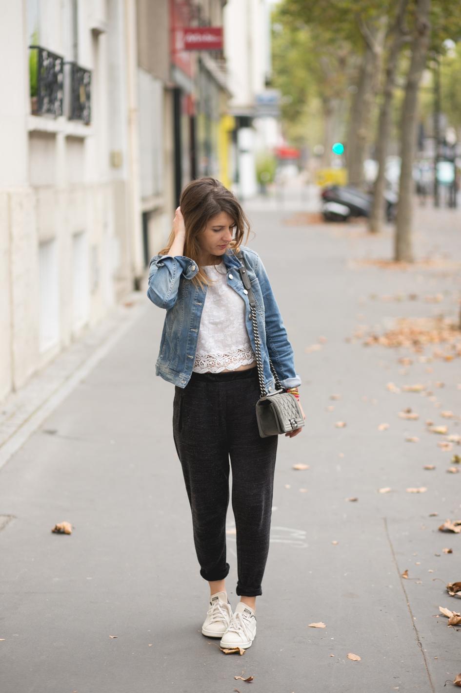 Outfit Veste En Jean