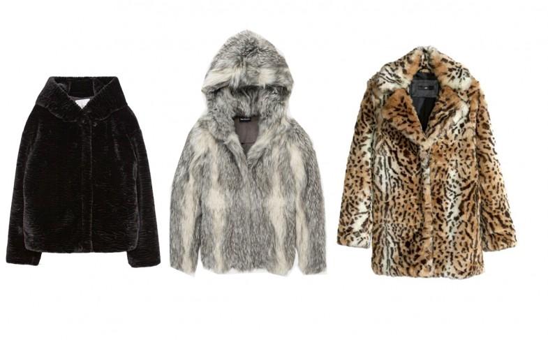 3 vestes en (fausse) fourrure pour booster sa garde robe d'hiver