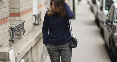 La pantalon Zara simili Celine