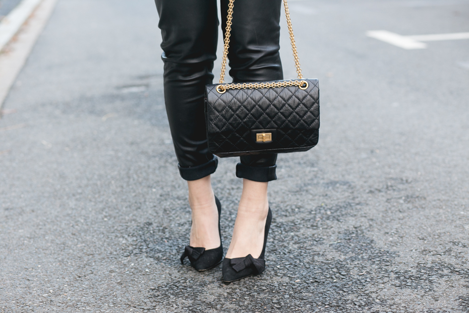 Sac Chanel 2.55 noir 7b2fd32ecaef