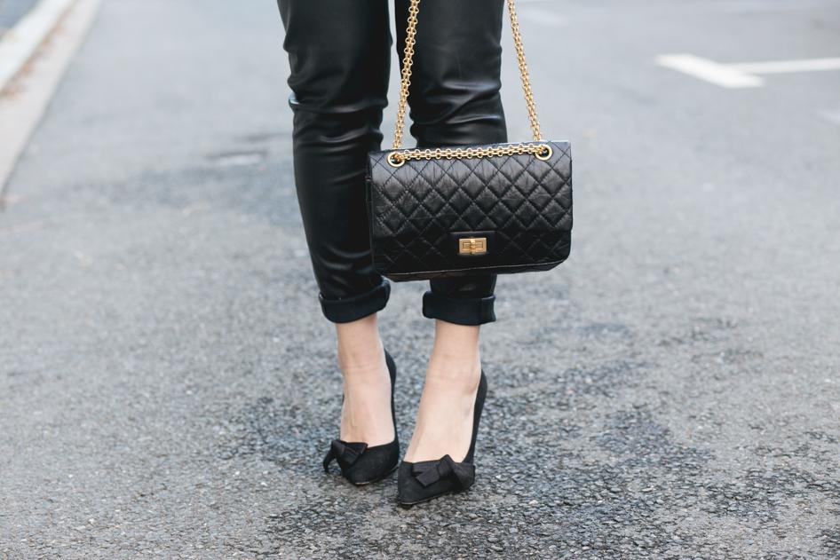 990e01621c76 Sac Chanel 2.55 noir