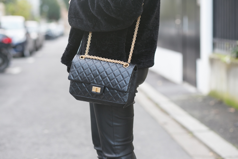 Sac Chanel 2.55 noir 0283b6d82d1