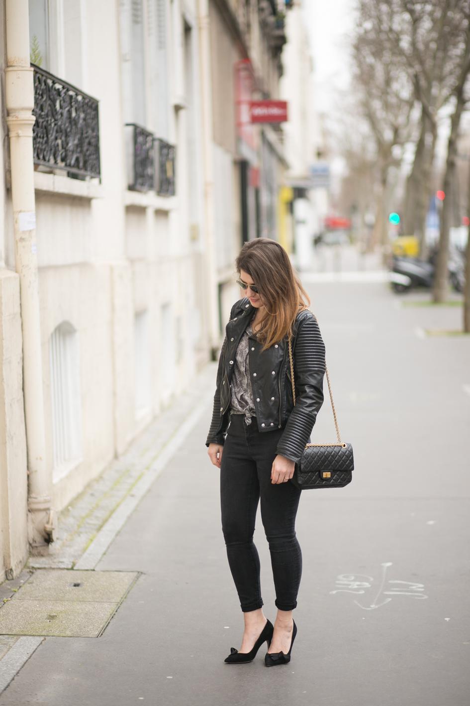 Chanel bag 2.55 Camille à Paris