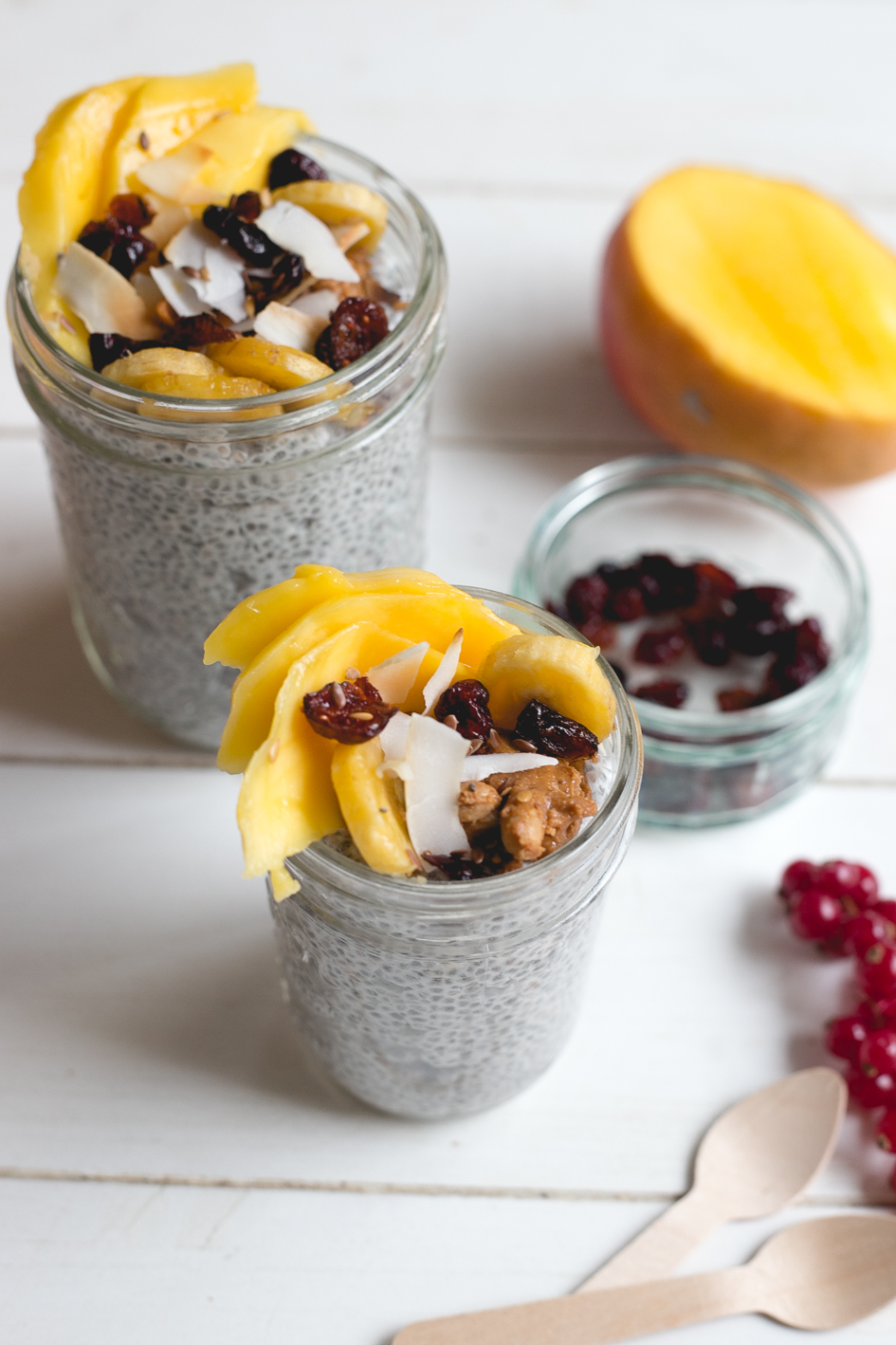 chia Pudding with lait de coco