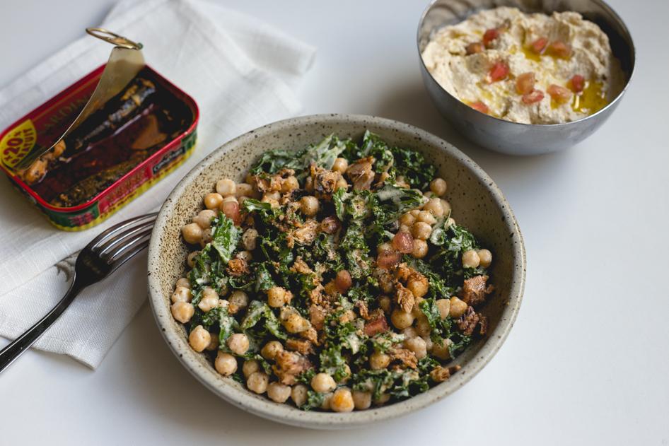 detox salade pois chiches