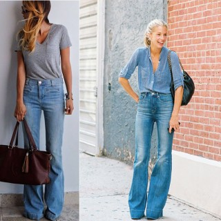 5 jeans Flare pour l'été…et comment les porter !