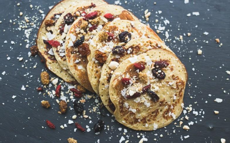 Pancakes gourmands à la ricotta