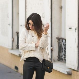 Le pull à franges Zara